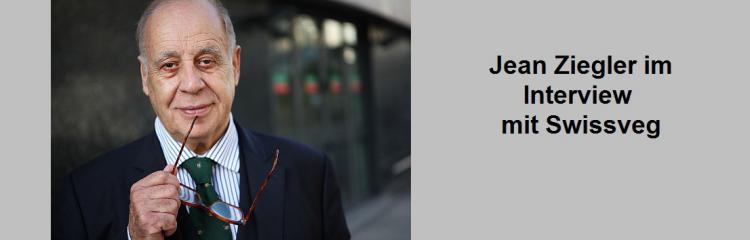 Jean Ziegler im Interview mit Swissveg
