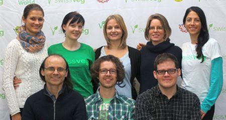 Das Swissveg-Büroteam