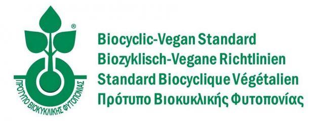Directives véganes biocycliques : logo