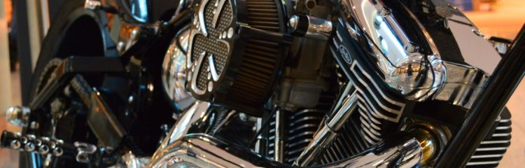 Motorradmotor