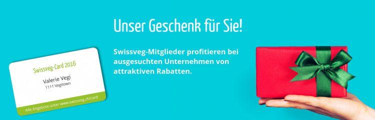 Swissveg-Card für Mitglieder