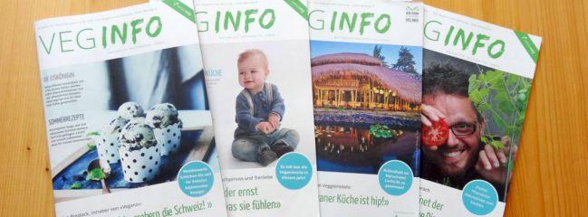 Swissveg Zeitschrift Veg-Info Impressum